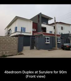 4 bedroom Semi Detached Duplex House for sale . Surulere Lagos