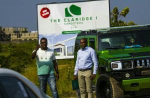 Land for sale Behind Novare Mall, Monastery Road Sangotedo Ajah Lagos