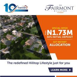 Land for sale The Fairmont Hilltop, Alagbado Sagamu Sagamu Ogun