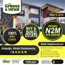 Land for sale Akala Express Ibadan Oyo