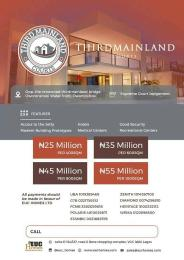 Mixed   Use Land Land for sale Third Mainland Courts is located at Oworonshoki Community oworo town, with a fantastic infrastructure and attractive investment in the most luxurious area of Oworonshoki, Oworonshoki Gbagada Lagos