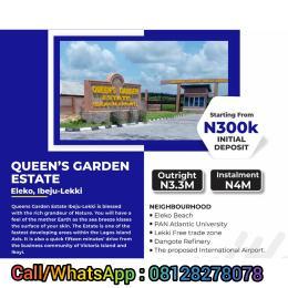 Mixed   Use Land Land for sale Coastal road, Eleko, Ibeju Lekki Eleko Ibeju-Lekki Lagos