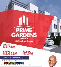 Residential Land Land for sale Prime Gardens estate located at Arepo. Arepo Arepo Ogun