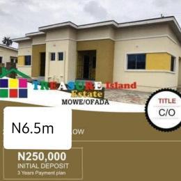 2 bedroom Detached Bungalow House for sale Orilemo off papalanto  mowe/ofada Ofada Obafemi Owode Ogun