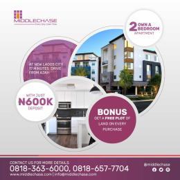 2 bedroom Blocks of Flats House for sale behind villac school Abijo Ajah Lagos