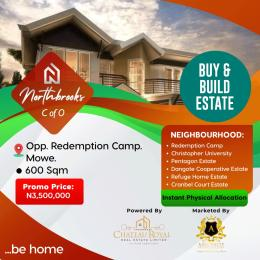 Serviced Residential Land Land for sale MOWE OPPOSITE REDEMPTIOM CAAMP Mowe Obafemi Owode Ogun