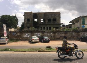 Commercial Property for sale Uncompleted Commercial Property on 820 square meters along UI -Secretariat Road (Beside Foodco Supermarket), Old Bodija Estate, Ibadan.  Title: OYSHC Deed of Sublease. Asking Price: N150m. Bodija Ibadan Oyo