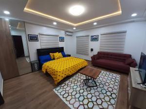 1 bedroom mini flat  Studio Apartment Flat / Apartment for shortlet MACCIDO DALHATU STREET, KATAMPE Und St. Katampe  Katampe Ext Abuja