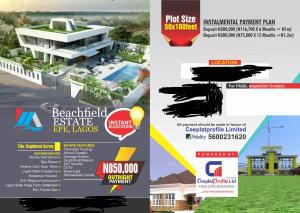 Land for sale Beach field  Epe Road Epe Lagos