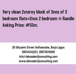 Shared Apartment Flat / Apartment for sale Randle Avenue Surulere Lagos