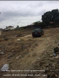 Mixed   Use Land Land for sale Close to chemist bus stop  Akoka Yaba Lagos