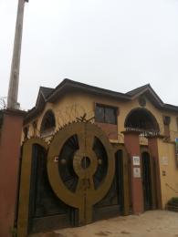 3 bedroom Blocks of Flats House for rent near heritage cinema at u-turn Abule Egba Abule Egba Lagos