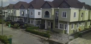 4 bedroom Semi Detached Duplex House for rent Royal palm villa estate by monastery road sangotedo  Monastery road Sangotedo Lagos