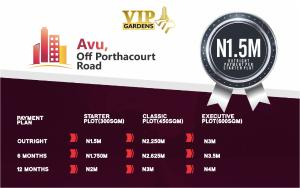 Residential Land Land for sale Avu off  Port Harcourt Rivers