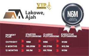 Residential Land Land for sale VIP GARDENS LAKOWE Lekki Phase 1 Lekki Lagos - 0