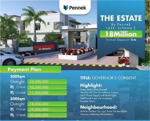 Serviced Residential Land Land for sale Abraham Adesanya Road Abraham adesanya estate Ajah Lagos