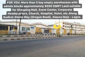 Warehouse Commercial Property for sale Oregun Ikeja Lagos