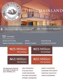 Mixed   Use Land Land for sale Water Front  Oworonshoki Gbagada Lagos