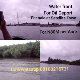 Commercial Property for sale Peter Immemesj water Front , Mawa road/Abulo Oshu Satellite Town.Lagos Satellite Town Amuwo Odofin Lagos