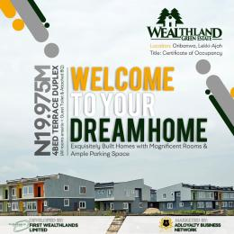 4 bedroom House for sale Oribanwa, Lekki, Lagos Oribanwa Ibeju-Lekki Lagos