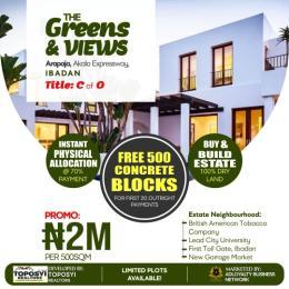 Land for sale Akala Express way Akala Express Ibadan Oyo