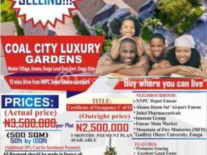 Serviced Residential Land Land for sale Nkubor Village, Emene Enugu East LGA Enugu Enugu