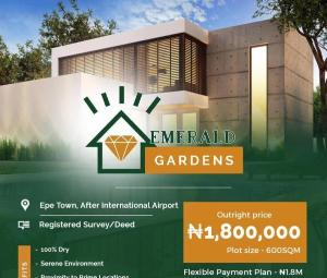 Mixed   Use Land Land for sale Emerald Garden After Proposed International Airport; Epe Lagos